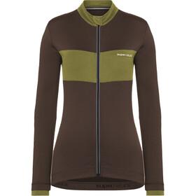 super.natural Grava LS Shirt Women, marrón